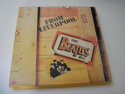 The BEATLES box from LIVERPOOL - 8 vinyles 33 tours - 1980