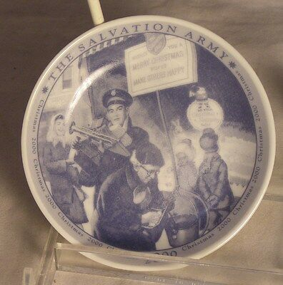 Salvation Army -  COMMEMORATIVE CHRISTMAS 2000 MINI-PLATE