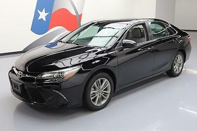 2016 Toyota Camry  2016 TOYOTA CAMRY SE AUTO BLUETOOTH REAR CAM ALLOYS 27K #125781 Texas Direct