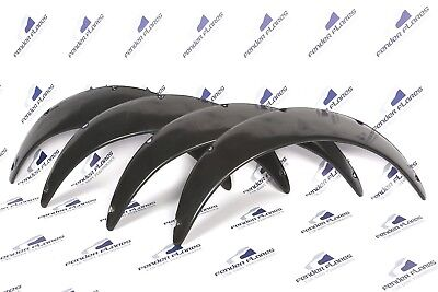JDM Fender Flares 3.1'' Wide body Universal wheel arch extensions SET 4 Pieces