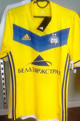 BATE BORISOV BELARUS official playing SHIRT ORIGINAL Adidas ADIZERO 2017 yellow