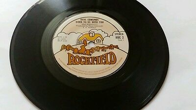 Dave edmunds  / born to be with you,  vinyl 7 inch single