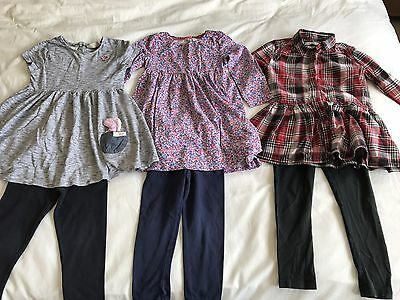 Girls Clothing Bundle x3 Outfits Age 3-4 Years M&S, Bluezoo, Next