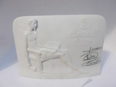 Don Quixote Lladro collectors society plaque
