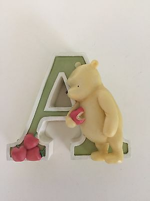 Michel Classic Pooh Winnie The Pooh Letter A