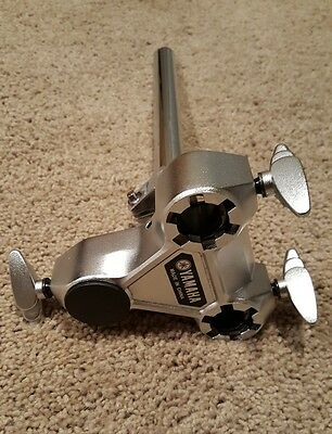 Yamaha TH-945B Double Tom Arm Holder for Bass Drum or Cymbal Stand. Hardly Used