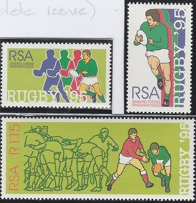 South Africa Stamps. 1995 Rugby World Cup (Complete Set) (MNH)