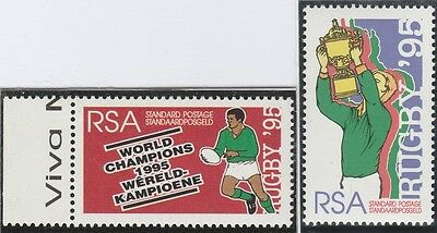 South Africa Stamps. 1995 Rugby World Cup Champions  (MNH)