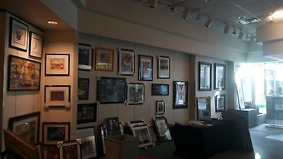 Entire contents of a 2000 sq. ft. Art Gallery