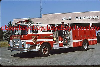 Fire Apparatus Slide, Engine 3, Old Orchard Beach / ME, 1978 Mack CF