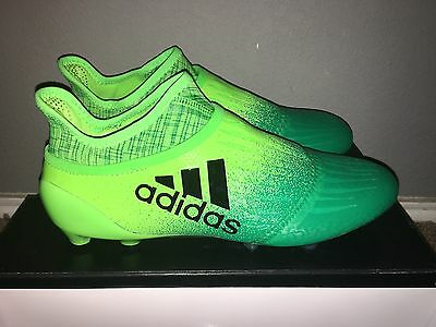 New Adidas X 16+ Purechaos Fg Soccer Cleats Mens Size Us 11.5 Solar Green