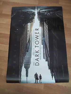 The Dark Tower original one 1 sheet movie poster DS Stephen King