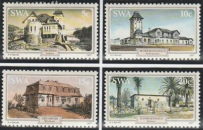 South West Africa Stamps 1977 Historic Houses  SG 306-309  (MNH)