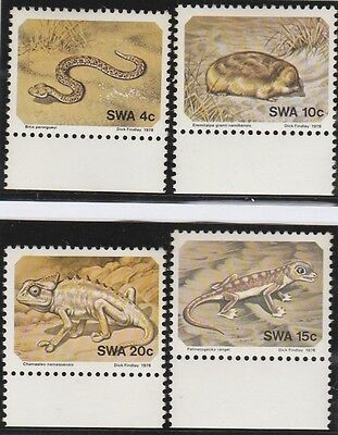 South West Afica Stamps 1978 Small Animals (MNH) SG 311-314