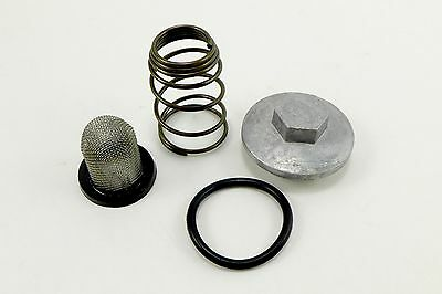 Honda Oil Screen Filter Cleaner Cap & Spring Kit NSS250 Reflex Scooter NSS250A