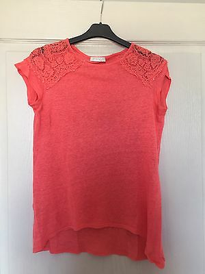 Haut Promod Corail Taille M Ou 38 Neuf