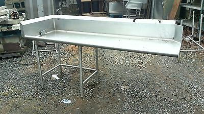 86'' x 30'' Left Side Clean Dish table Commercial Heavy Duty S/S Dishtable