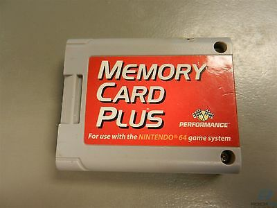 Memory Card Plus Performance Brand for Nintendo 64 N64