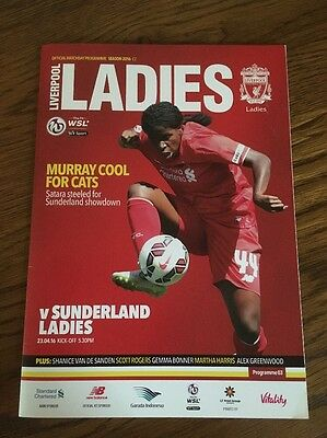 Liverpool Ladies v Sunderland Ladies 23 April 2016