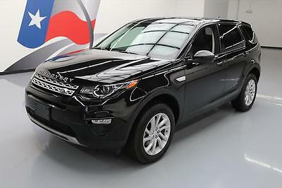 2016 Land Rover Discovery  2016 LAND ROVER DISCOVERY SPORT HSE AWD PANO NAV 20K MI #587675 Texas Direct