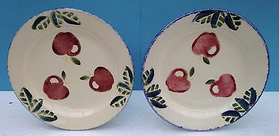 Poole Pottery- Dorset Fruit - Side Plate x 2 - Apples