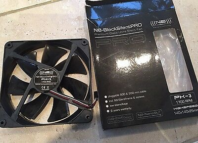Noiseblocker PK-3 Noiseblocker BlackSilent Pro Fan PK3 - 140mm (1700rpm)