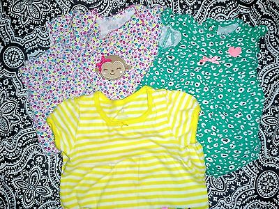 12 Mo. Carter Lot/3 Outfits/One Pieces and Pants/Cute!!