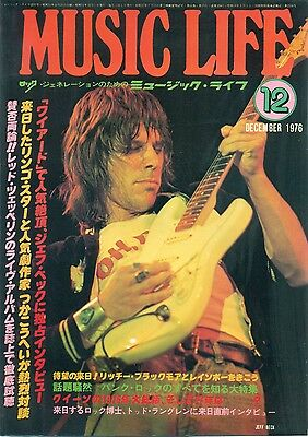 Jeff Beck - Clippings From Japanese Magazine Music Life