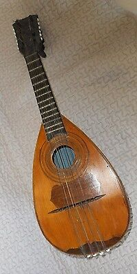 MANDOLINE FRANCAISE XIXème - french mandolin 19 CENTURY antique old