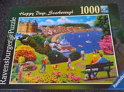 1,000 piece jigsaw by Ravensburger. Happy Days, Scarborough.
