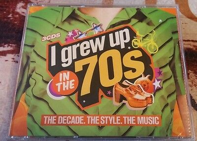 I Grew up in the 70s 3fach CD