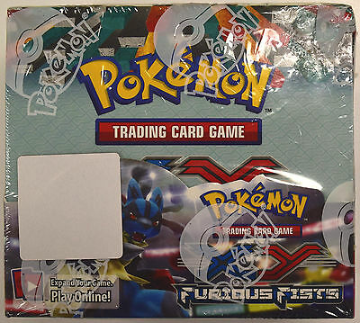 Pokemon XY Furious Fists Factory Sealed Booster Box - 36 Packs