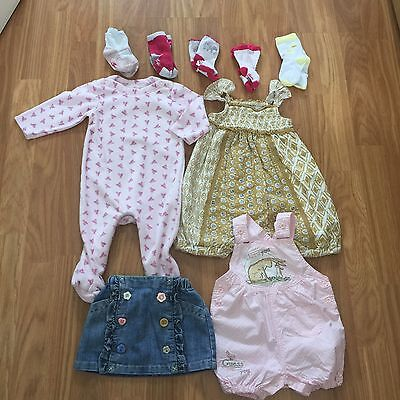 3-6 Months. Baby Girl Bundle. Assorted Makes