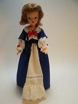 Tammy  Doll Ideal Toy Corp BS 12 2  Original Colonial Dress Stand