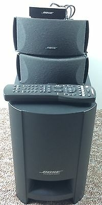 Bose CineMate Digital Home Theater Speaker System W/ Remote TESTED !