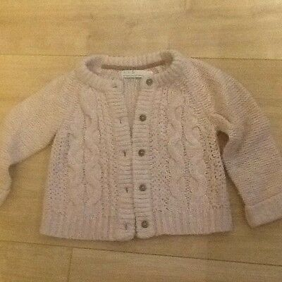 Mini B, Girls, Pink Cardigan, Age 3-4, Lovely Knitted Design