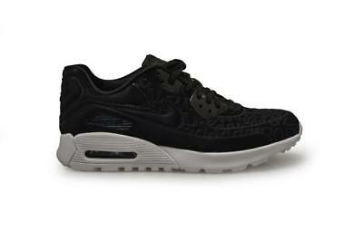 best sneakers 44025 6ac69 FEMMES NIKE AIR MAX 90 Ultra Peluche - 844886 001 - Baskets noires blanches