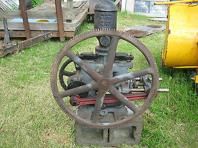 ANTIQUE CAST IRON WATER WELL PUMP GOULD'S  Industrial Steampunk Hit Miss Engine