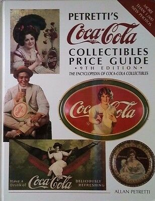 COCA-COLA PRICE GUIDE COLLECTOR'S BOOK SIGN GLASS PORCELAIN  498 Pages