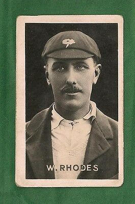 WILFRED RHODES  Yorkshire Cricket Club ENGLAND Ashes Test Cricketer 1922 card
