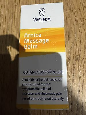 Weleda Arnica Oil 100ml Expires 2019