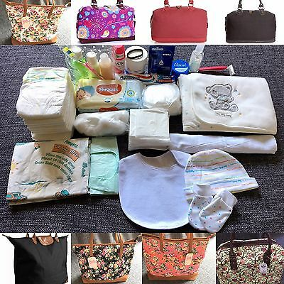 Deluxe prepacked maternity Hospital bag