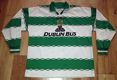 Dublin Bus Ireland Non-League Match Worn Football Shirt - O'Neills 1990s