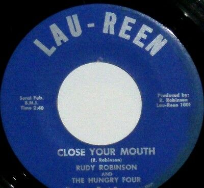 FUNK Rudy Robinson & The Hungry Four Close Your Mouth  FUNKY JAZZ Hammond R&B
