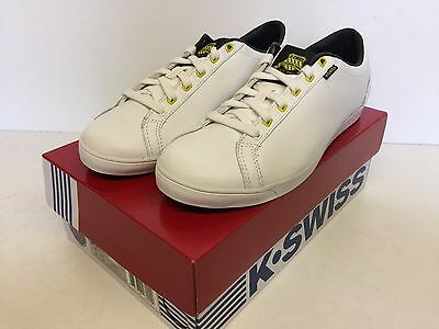 New K-Swiss Ladies women's white casual trainers - All Court Tennis Size 5.5 uk