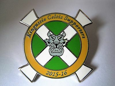 Celtic fc Supporters Club, Csc, pin badge