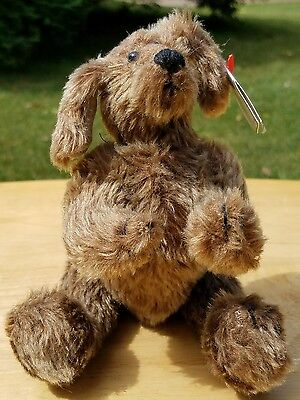 Ty Attic Treasures Collection Retired 1993 Jointed Brewster Dog