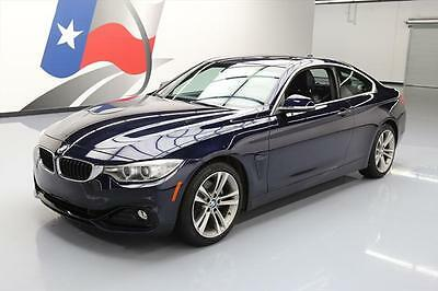 2016 BMW 4-Series Base Coupe 2-Door 2016 BMW 428I TURBOCHARGED SUNROOF NAVIGATION XENONS 6K #228695 Texas Direct