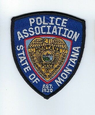 State of Montana MT Police Association patch - NEW!