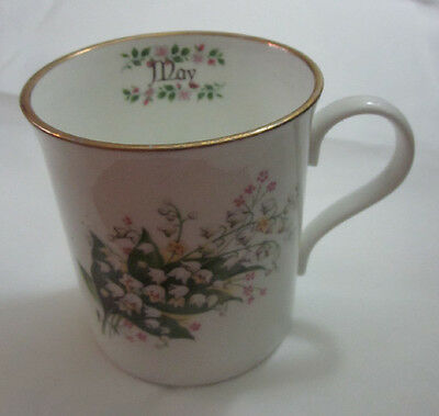 Vintage mug for May made by Crown Trent Fine Bone China Staffordshire England